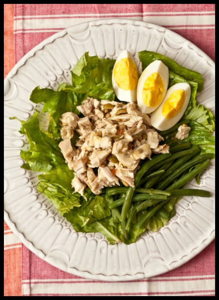 Carolina chicken salad
